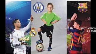 Maty Mateju U9 Football Highlights of Tournament Hermanův Mestec