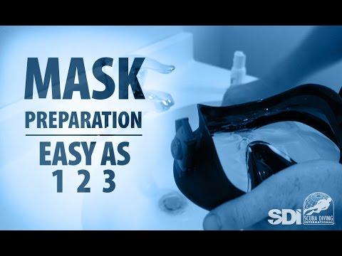 Mask, Snorkel & Fins | Mask Preparation: Easy as 1-2-3