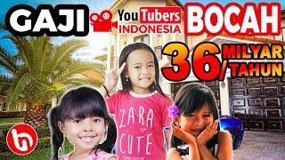BOCAH Ingusan Berpenghasilan Milyaran! Inilah 5 Youtuber Bocah Paling Kaya Raya Di Indonesia