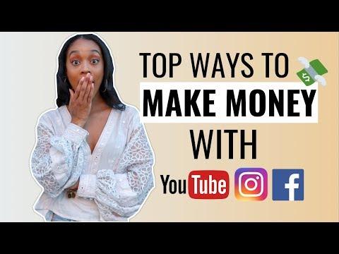Top 4 Ways to Make Money Using Social Media 2019