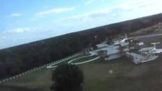 John travolta's house and private jet Florida, Taking off over in a PA28-161