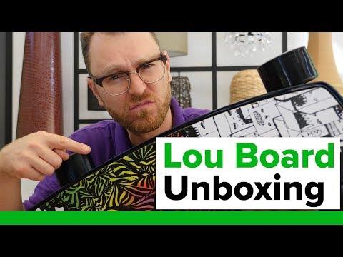 Lou Board Unboxing / Das ultimative E-Skateboard aus Carbon! (Kickstarter)