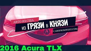 Пафосный Аккорд или доступный лакшери: 2016 Acura TLX [Из Грязи в Князи]