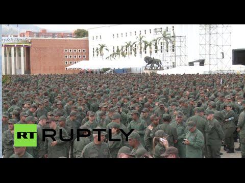 Venezuela military drills begin amid rising tensions with US