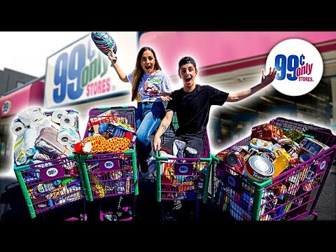Buying Every Item From The 99 Cents Store!