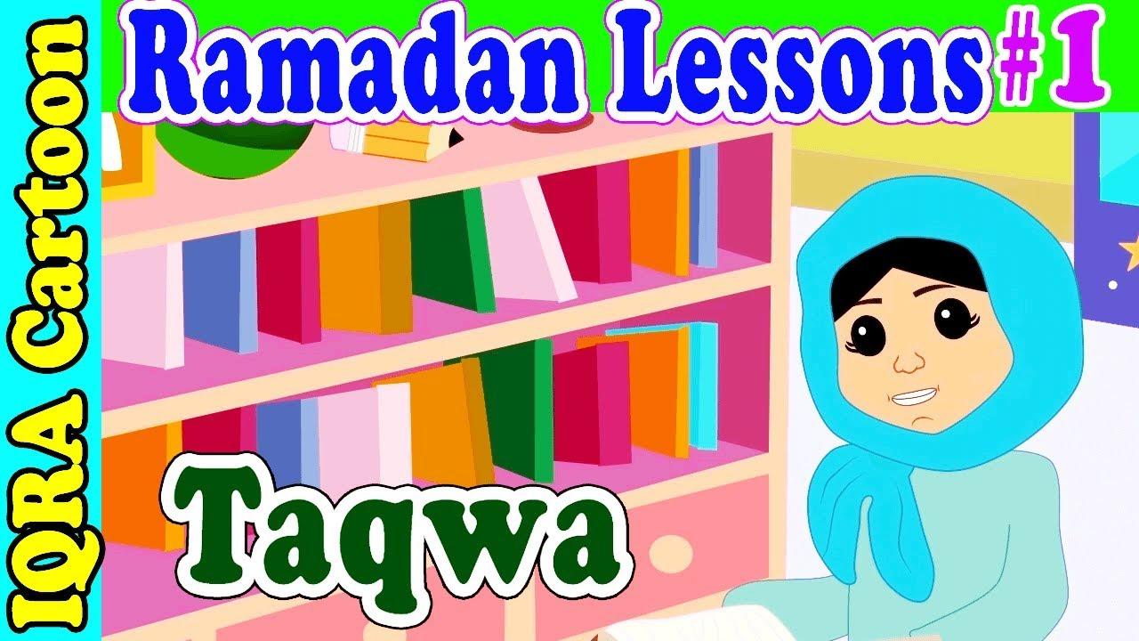 Taqwa: Ramadan Lesson Islamic Cartoon for Kids Ep #1