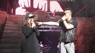 Song Jihyo at Gary Leessang Concert HD (Monday Couple)