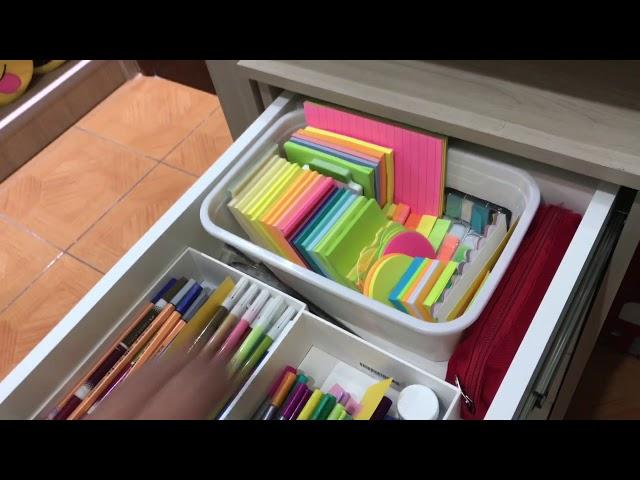 Tour pela minha escrivaninha reorganizada |#MTD17| Por: Study and Plan