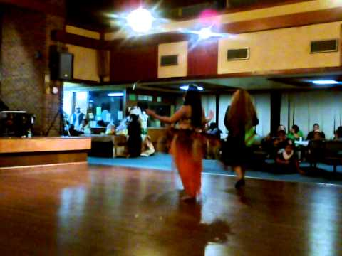 Females Slow Beat cook island  Dancer( from Nz )