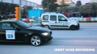 Renault Kangoo 1.5 dCi vs BMW 320d E92 Drag Race
