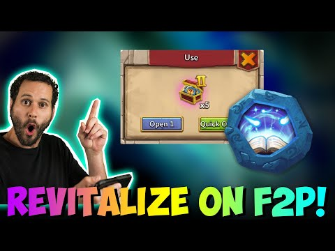 JT's F2P FIRST Revitalize Insignia LETS GO! Castle Clash