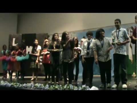 Lakeside Middle School Perris CA, Winners in Annual  Talent Show 2012