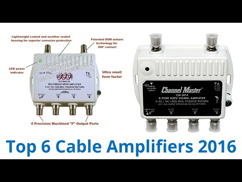 6 Best Cable Amplifiers 2016