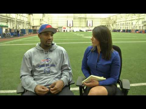Alexandra Vitale talks with Jerry Hughes
