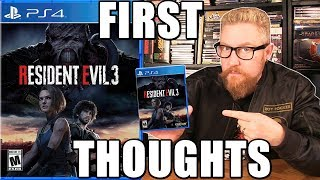 RESIDENT EVIL 3 REMAKE (First Thoughts) - Happy Console Gamer