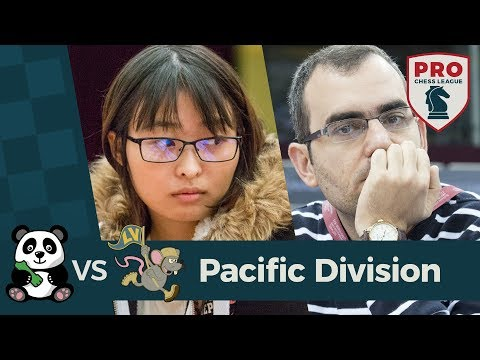 2018 PRO Chess League: Week 1 - Pacific Division