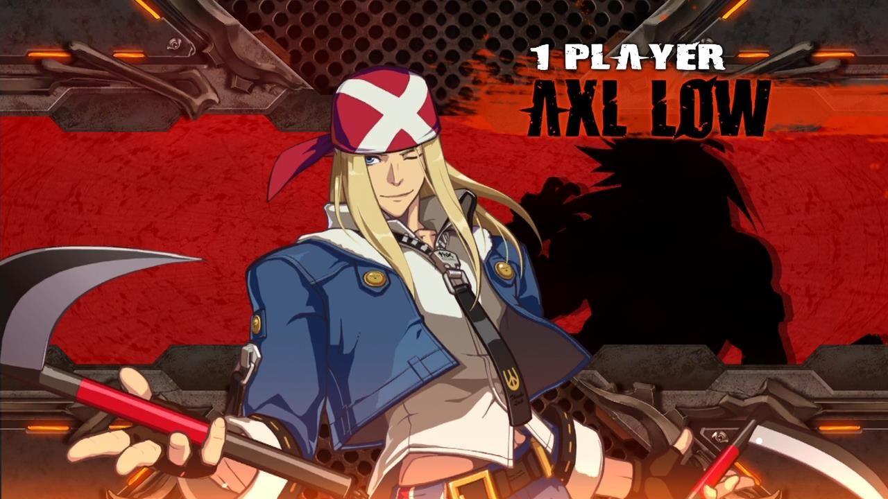 axl low guilty gear - photo #6