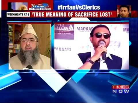 Irrfan Khan vs Muslim clerics over 'Qurbani'