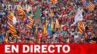 DIRECTO #CATALUÑA   MANIFESTACIÓN en contra de la detención de PUIGDEMONT en CERDEÑA