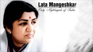Lata Mangeshkar - Tere Liye Palkon Ki