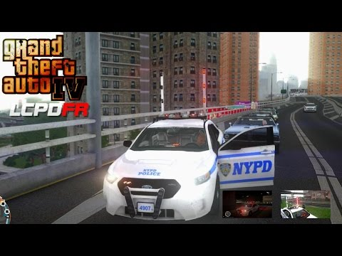 GRAND THEFT AUTO IV - LCPDFR - EPiSODE 42 - (NYPD HIGHWAY PATROL TAURUS) UNTIL SAPDFR/ LSPDFR