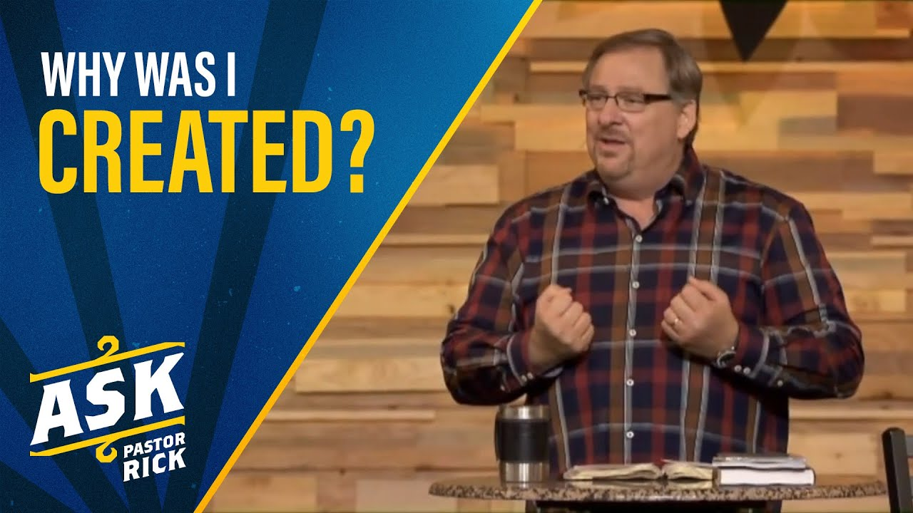 Why Was I Created? (Live Your Calling)