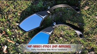 Hafny Handlebar Mirror Installation HF-M900S/B-FR01 (HF-MR095S/B) FR01