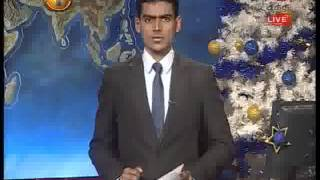 News 1st Prime time 8PM Shakthi TV news 31st December 2014