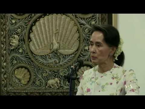 Myanmar Minority Issue Looms Over Aung San Suu Kyi's Historic US Visit