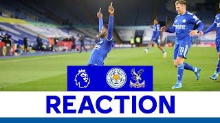 'I Enjoyed That One!' - Kelechi Iheanacho   Leicester City 2 Crystal Palace 1   2020/21