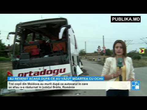 O parte dintre moldovenii implicaţi în accidentul din România vor ajunge astăzi la Chişinău