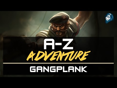 GANGPLANK Vs Olaf - A-Z Adventure - Episode 31 (New SteelSeries Giveaway!)