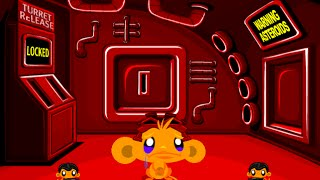 Monkey GO Happy Sci fi 2 Fast Walkthrough