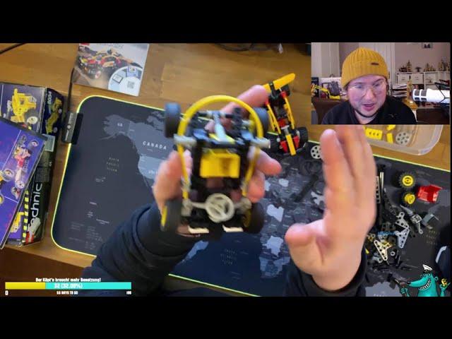 Der Käpt'n bedankt sich für 100 YouTube-Abos, baut 90er Jahre Lego Technic und zieht nen Gewinner!