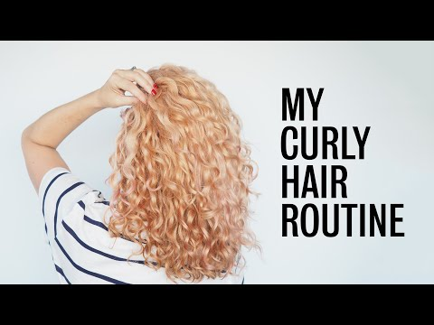 my-current-curly-hair-routine
