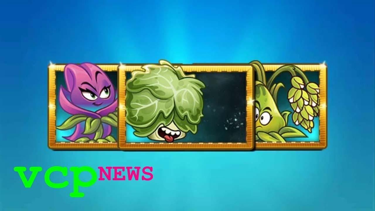 Plants vs. Zombies 2: Nueva Info 8.5.1/8.6.1 Lechuga mantecosa, Azafrán, Bombarroz (VIDEO CORREGIDO)