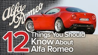 12 Things You Should Know About Alfa Romeo: The Short List