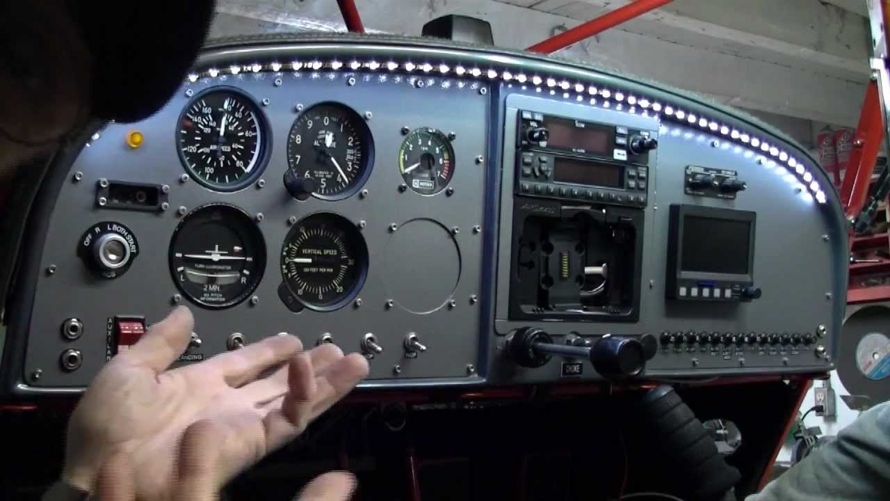 Led Cockpit Lighting System For Aircraft Interiors Buy Now 45 Piper Seneca Wiring Diagram Youtube