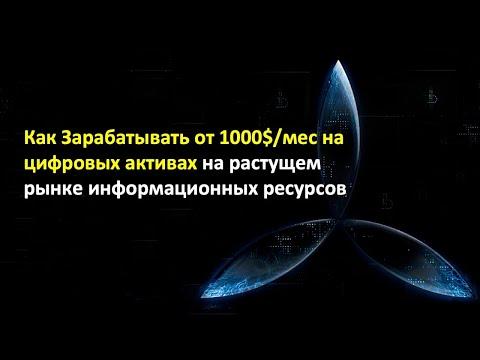 Как Зарабатывать от 1000$/мес на Растущем Рынке Информационных Ресурсов / Юрий Гава