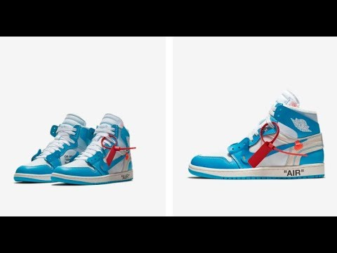 896f7ad25dc8 NIKE x OFF WHITE UNC Powder Blue Air Jordan 1 Teaser Or Actual Drop! 5 23 18