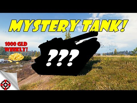 World of Tanks - MYSTERY TANK! (Name the tank - win 1000 gold) thumbnail