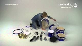Entrada DR-400 Drums | Montage-instructie | Kinderdrumstel