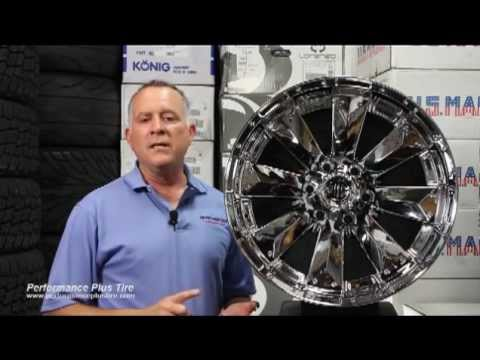 CRAVE OFFROAD WHEELS  XTREME NX4 CHROME RIM -- Performance Plus Wheel & Tire Review