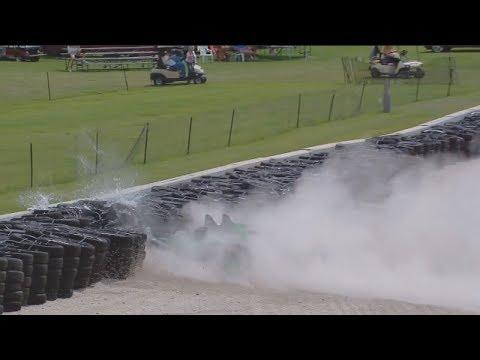 IMSA WeatherTech SportsCar Championship 2017. Road America. Crash