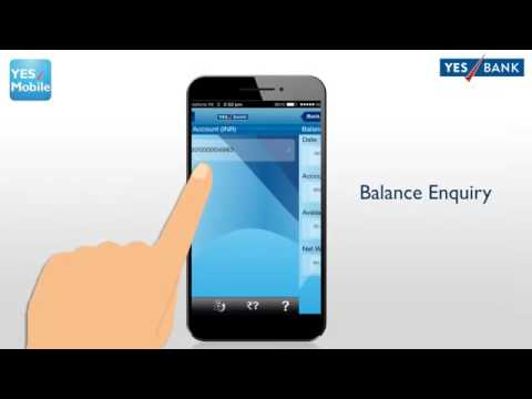 YES MOBILE   YES BANK's MobileBanking App