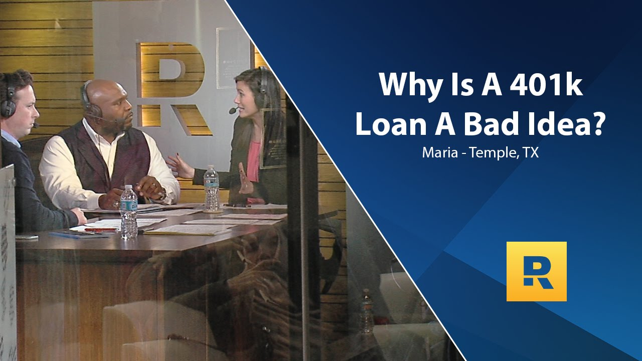 Why Is A 401k Loan A Bad Idea? - YouTube