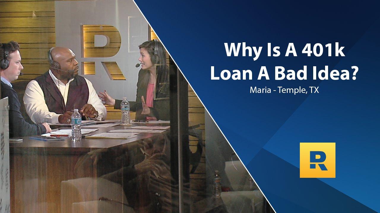 Why Is A 401k Loan A Bad Idea? - YouTube