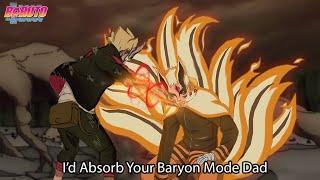 LIMIT OF BARYON MODE !!! Boruto Absorb Kurama to Save Naruto from Baryon Mode