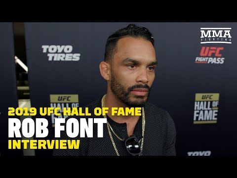 [VIDEO] Rob Font Disappointed Over John Lineker Release: 'I Needed That Rematch'
