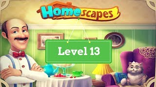 homeScapes level 13